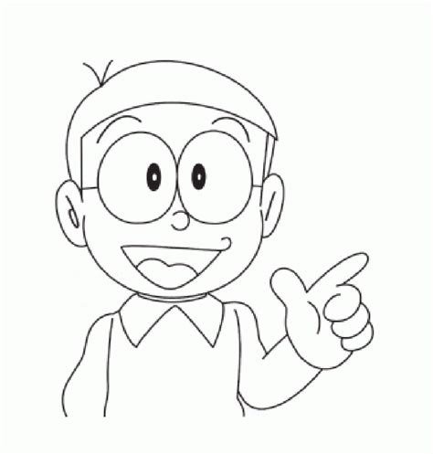 pages of doraemon free nobita from doraemon coloring sheet to print