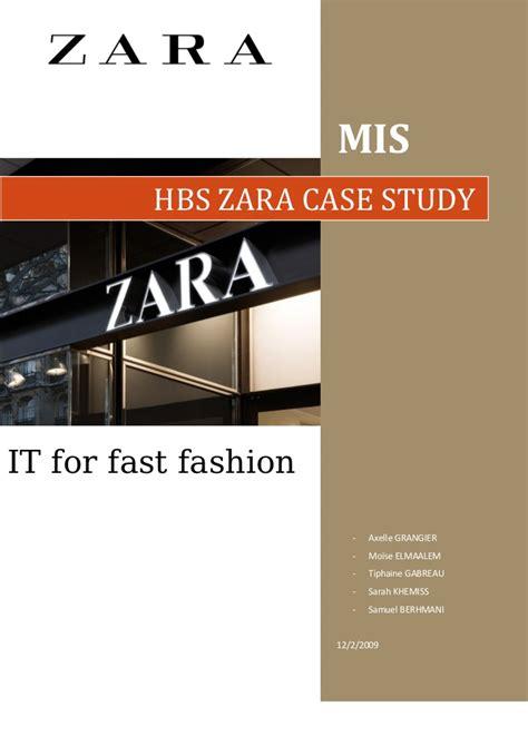 Zara Case Study Zara Ppt Template