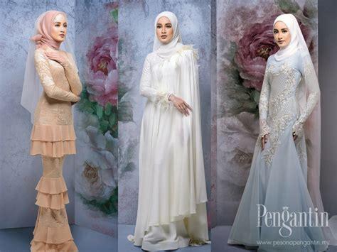 Baju Kahwin Pastel baju pengantin pastel 9 idea baju kahwin untuk pengantin berhijab wajib tengok