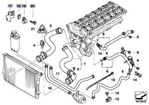 original parts for e38 728i m52 sedan engine cooling system water hoses 2 estore central