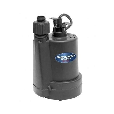 submersible utility pump drain remove water pool fountain