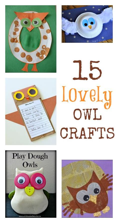 preschool printable activities owl craft lovely owl crafts for kids nocturnal animals theme
