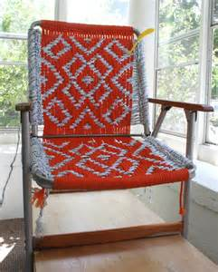 Macrame Lawn Chair by Coming Soon Macrame Lawn Chair