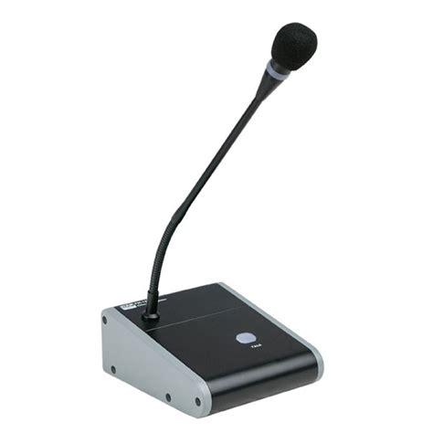 microfono da tavolo microfono da tavolo con basetta ed interruttore per relatore