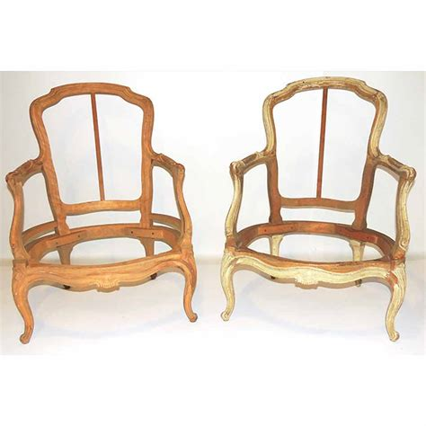 Chair Frames by Pair Of Louis Xv Bergere Chair Frames For Sale At Auction On Wed 01 15 2014 07 00 The Yale