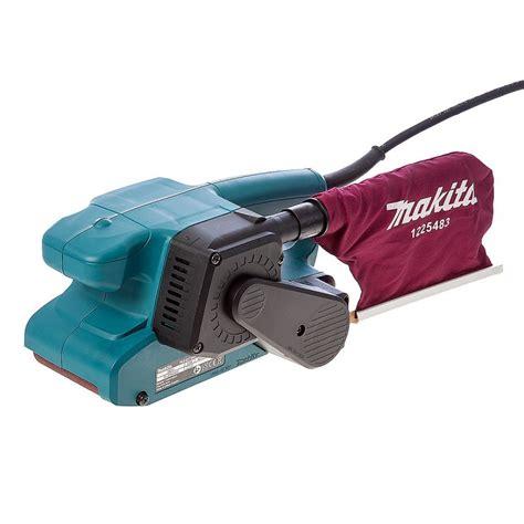 makita woodworking tools makita 9911 75mm belt sander brighton tools and fixings