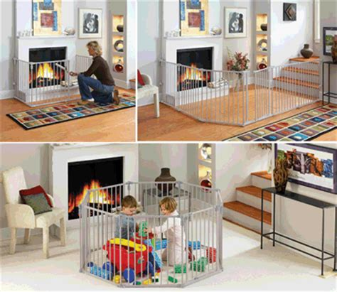 toddler fireplace safety gates and wide play fences