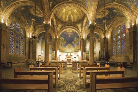 di cagna interni le chiese barluzzi in terra santa in un libro