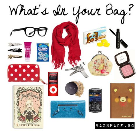 what s in a what s in your bag