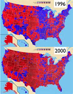 us election map 2000 changes in u s electoral geography from 2000 to 2012 a