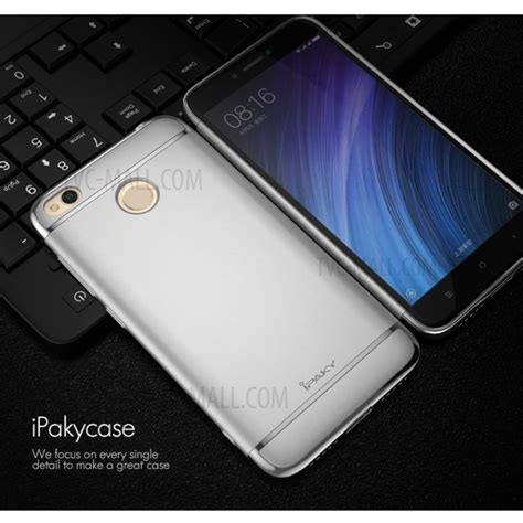ipaky 3 in 1 electroplating pc back cover for xiaomi