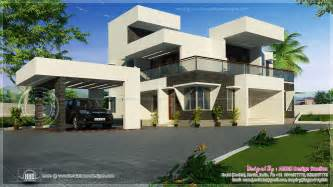 Modern Style Home by July 2013 Kerala Home Design And Floor Plans