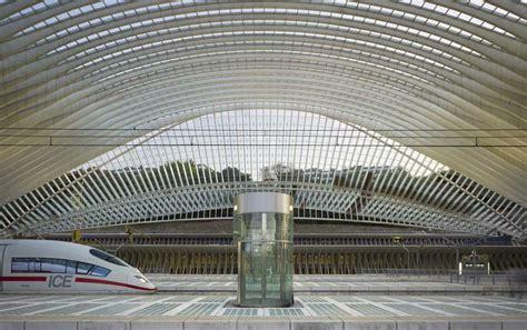 liege station liege guillemins tgv station belgium e architect