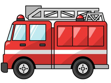 firetruck clip art cliparts co