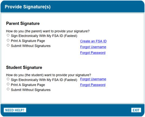 fafsa tutorial sign and submit the fafsa edvisors