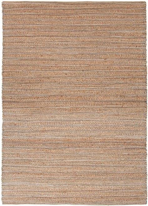 Himalaya Collection Jute And Cotton Area Rug In Hockney Jute Rug