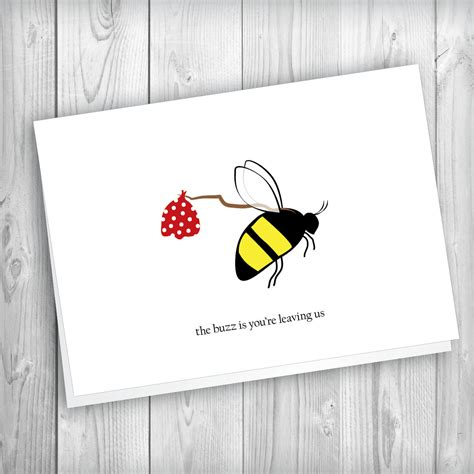 printable leaving card say farewell to your colleague and happy wishes from the