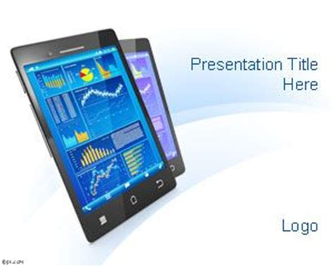 presentation and layout devices free mobile powerpoint template