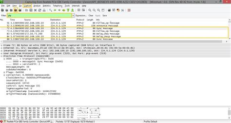 tutorial wireshark 2 0 1 hands on tutorial on ptpv2
