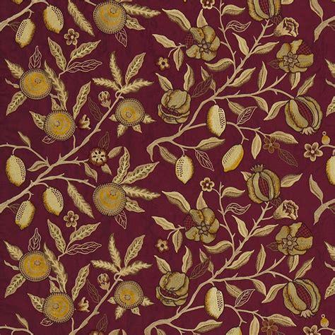 fruit embroidery fabric bricklichen dmoefr