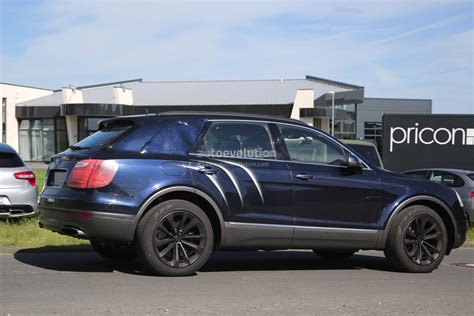 suv bentley 2016 2016 bentley bentayga suv spotted nearly camo free