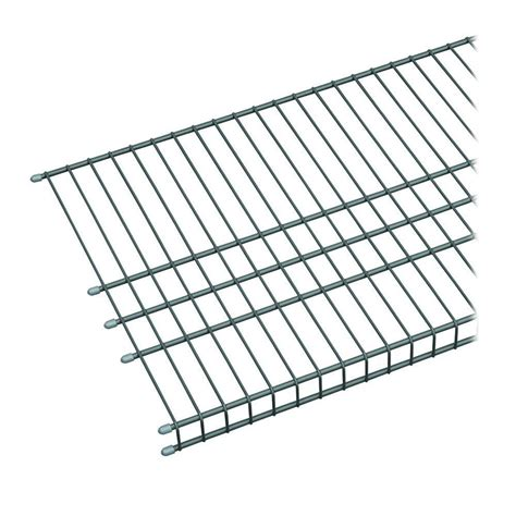 closetmaid wire shelving closetmaid 24 in hanging wire shelf 1048 the home depot