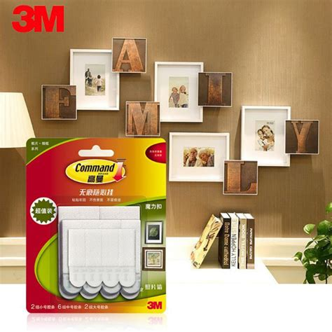 command wall stickers 20 pcs magic picture frame hanging command hook wall