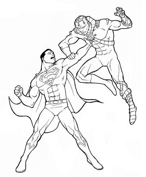 desenhos para colorir super herois az dibujos para colorear