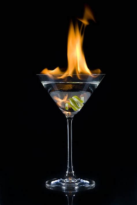 martini flaming flaming lime drink up bi s pinterest