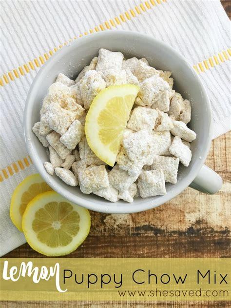 lemon puppy chow delicious lemon puppy chow mix recipe