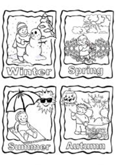 seasons coloring pages preschool free coloring pages of four seasons