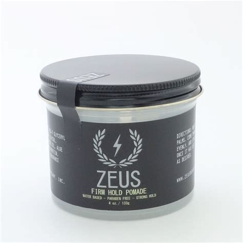 Jual Pomade Firm Hold zeus firm hold pomade the beard emporium