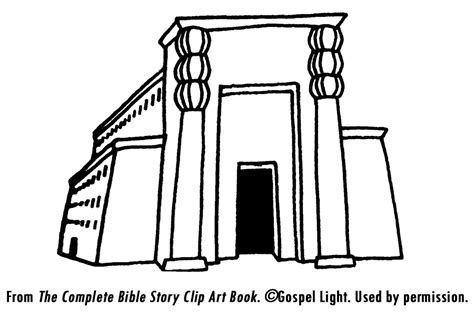 coloring pages king joash king solomon s temple clipart 51