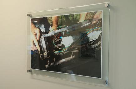 frameless glass picture frames