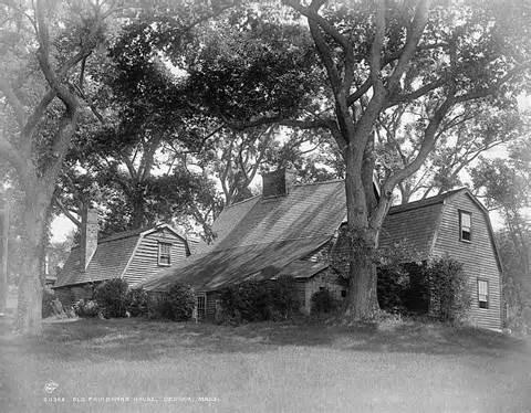 the fairbanks house oldest wood frame house in