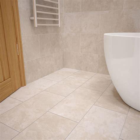 urban cement cream stone effect ceramic wall floor tile
