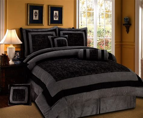 black and size comforter set bedding and bedding set