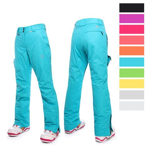 are colored pants in style for 2016 2016 new style ski pants women snow pants solid color ski