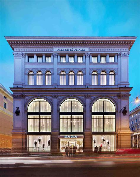 home design stores rome zara flagship store via del corso rome 03 187 retail design blog