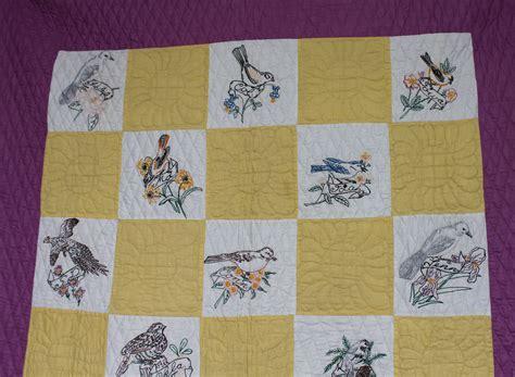 Painted Quilt Squares by Bargain S Antiques 187 Archive Antique State Birds