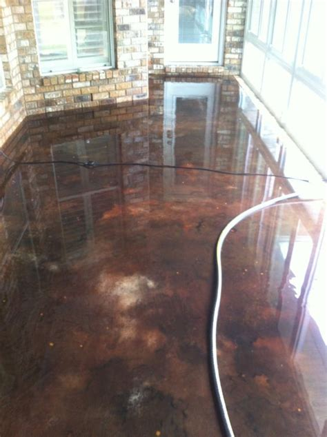 How To Get Stains Out Of Concrete Floors by Acid Stain Black Coffee And Stains On