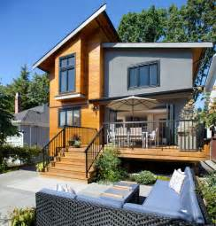 Coffee Tables For Small Living Rooms Asymmetrical Overhaul Contemporary Exterior Vancouver By Klondike Contracting