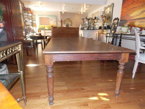 americana antique large farm tabledining room table