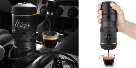 The Espresso Machine for Your Car: Handpresso Auto