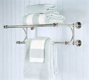 pottery barn towel bars mercer rack bathroom