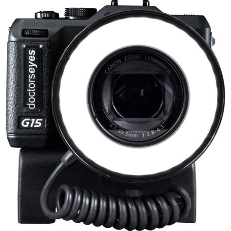 ring light for digital camera doctors eyes compact system with 86mm led ring light de