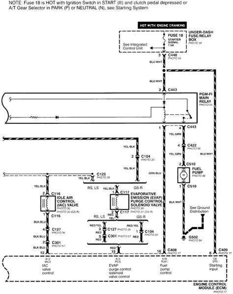 integra ignition wiring diagram wiring diagram
