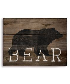 large rustic black bear on wood hand painted by awesome cabin art large rustic black bear on wood hand