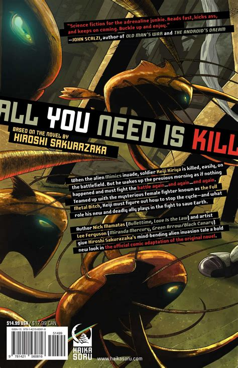 All Graphic all you need is kill graphic novel book by hiroshi