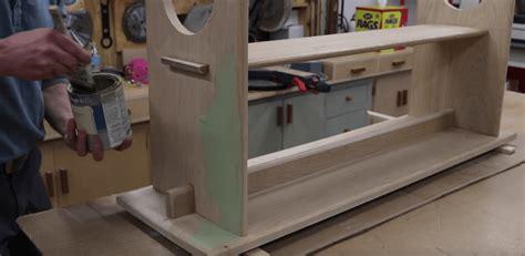 rustic bench  design plans jon peters art